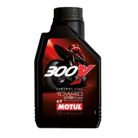 MOTUL 300V F/LINE ROAD RACING (10W 40)  1L