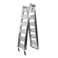 LA CORSA 60-AR17-MB RAMP ALLOY BIFOLD 28cm X 2.25m LADDER