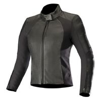 ALPINESTARS STELLA VIKA V2 LEATHER JACKET BLACK