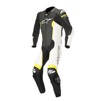 ALPINESTARS MISSILE TECH-AIR® COMPATIBLE SUIT - BLACK WHITE FLURO YELLOW