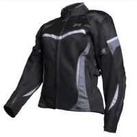 MOTODRY CLIO LADIES JACKET BLACK/WHITE