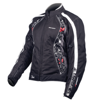 MOTODRY CHERI LADY RED LEAF JACKET