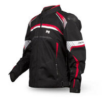 MOTODRY RAPID JACKET BLK/RED