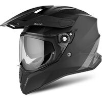 AIROH COMMANDER MATT BLACK ADVENTURE HELMET
