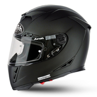 AIROH GP500 SOLID MATT BLACK HELMET
