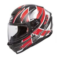 KABUTO AEROBLADE 5 HURRICANE BLACK/RED