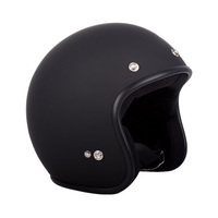 RXT LOW RIDE OPEN FACE MATT BLACK With Studs