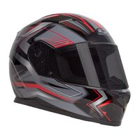 RXT 817 STREET ZED BLACK/RED HELMET