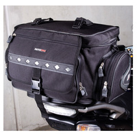 REAR BAG (EXPANDABLE) BLACK/SIL DUAL 36L