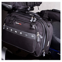 MOTODRY PLATINUM SADDLE BAGS BIKE TOUR 66L EXPANDABLE