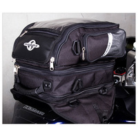 MOTODRY TANK BAG 'TRIPLEX' 3LEVEL BLACK/SILVER 22L