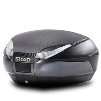 SHAD SH48 TOP CASE BLACK  48L