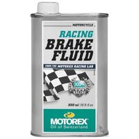MOTOREX 500ML RACING BRAKE FLUID