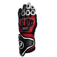 RICONDI RACING SERIES GLOVE BLACK WHITE RED