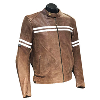 THE BRUXNER PERFORATED LEATHER JACKET