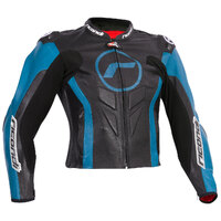 LADIES GP EVO JACKET BLACK/SKY BLUE