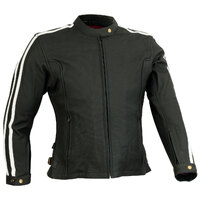 RICONDI LADIES MT GLORIOUS PERFORATED LEATHER JACKET