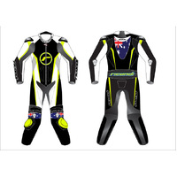 RICONDI RACING SERIES JUNIOR SUIT - BLACK/WHITE/NEON