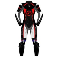 RICONDI LADIES RACING SERIES 1 PIECE BLACK/WHITE/RED