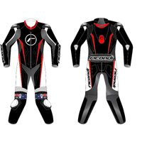RICONDI RACING SERIES V4 BLACK RED TALL