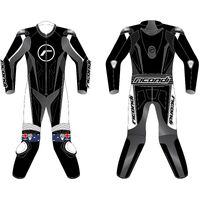 RICONDI RACING SERIES V4 BLACK WHITE TALL