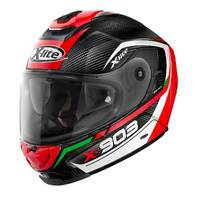 X-LITE X-903 ULTRA CARBON CAVALCADE CARBON / RED / WHITE