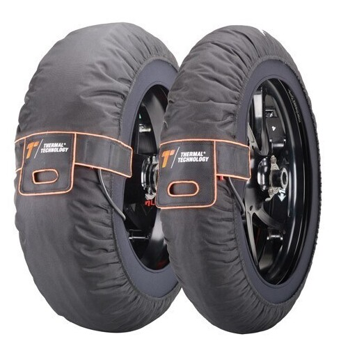 THERMAL TECHNOLOGY PRO SERIES TYRE WARMERS [Size: XXLARGE/205]